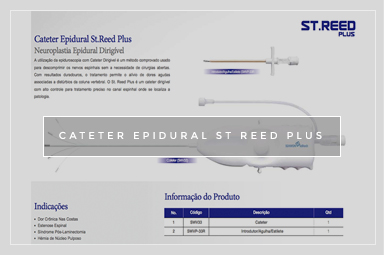 CATETER EPIDURAL ST REED PLUS