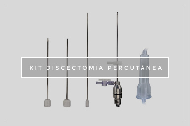 KIT DISCECTOMIA PERCUTÂNEA